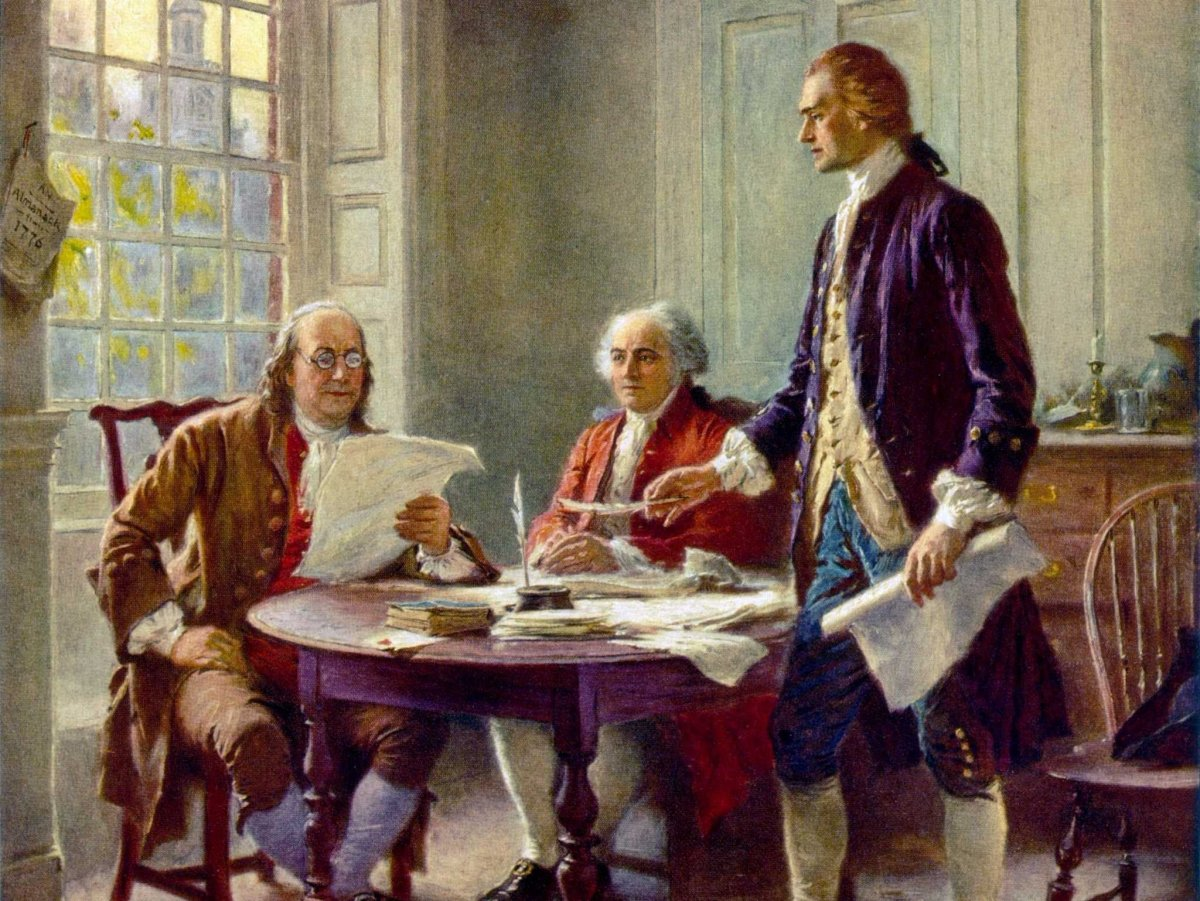 July 2, 1776 Independence Day