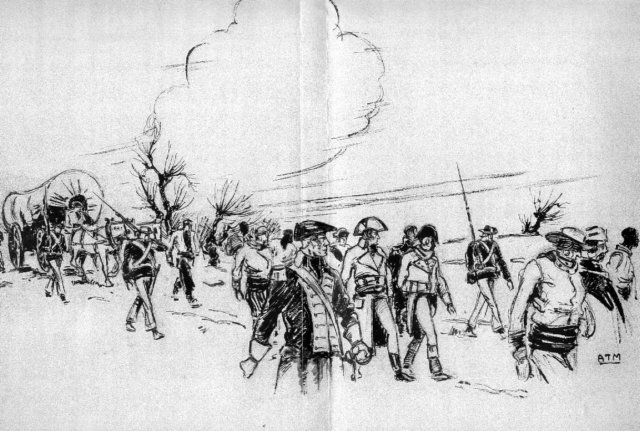 United_States_Marine_escorting_French_prisoners