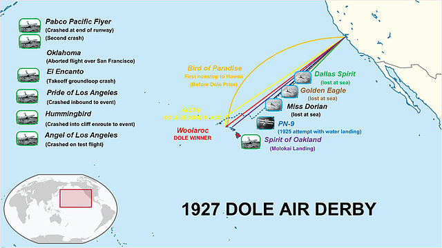 August 16, 1927 The Dole Air Race