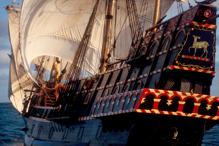 Golden Hind Replica