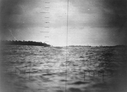 Makin Island as seen from USS Nautilus