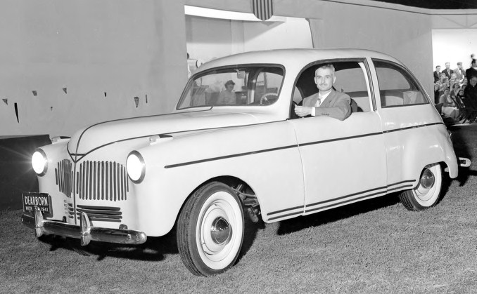 August 13, 1941 Henry Ford's Soybean Car