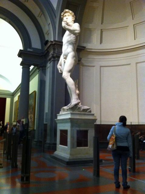 Michelangelo's David - Accademia, Florence