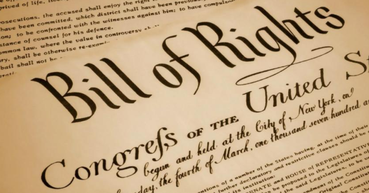 September 25, 1789  Bill of Rights