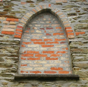 Bricked up window