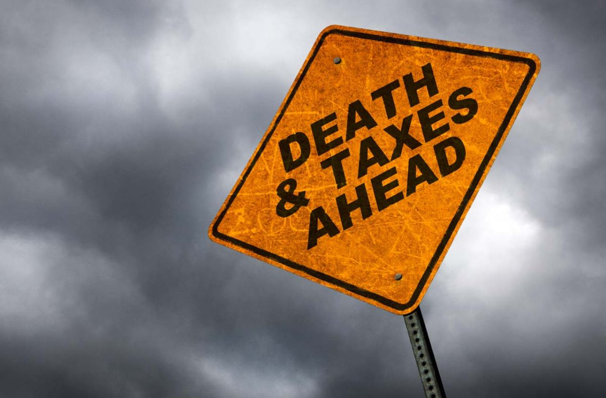 September 5, 1698 Death & Taxes