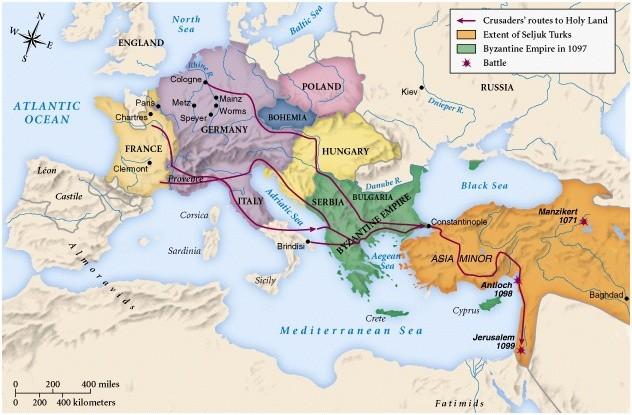 first-crusade-map