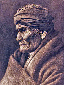 Geronimo in old age