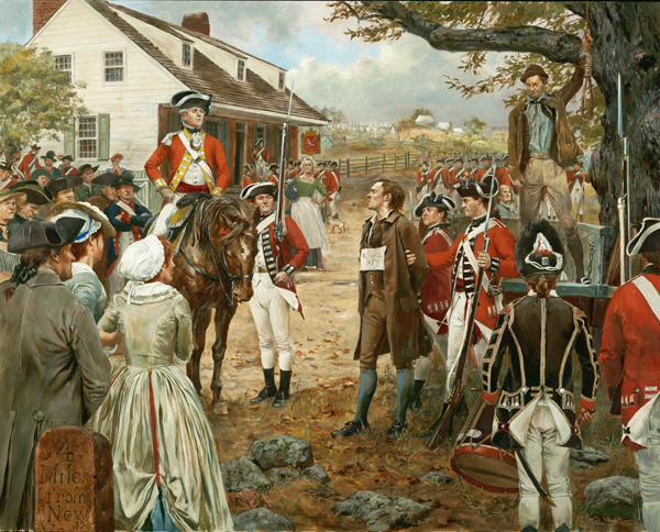 September 10, 1776 One Life to Lose