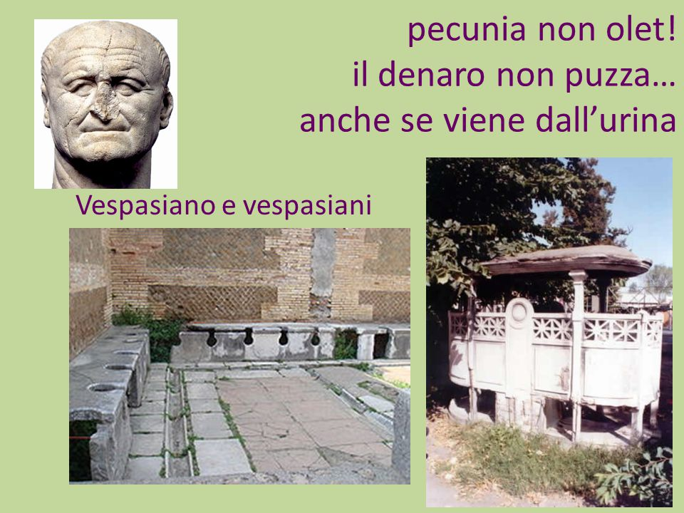Vespasiano e vespasiani.