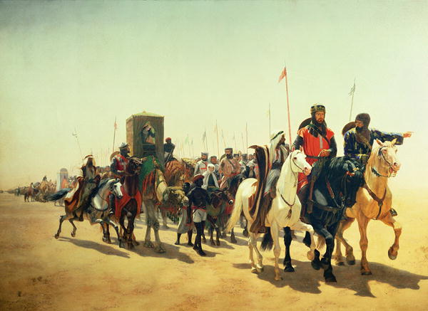 Richard-Coeur-de-Lion-on-his-way-to-Jerusalem