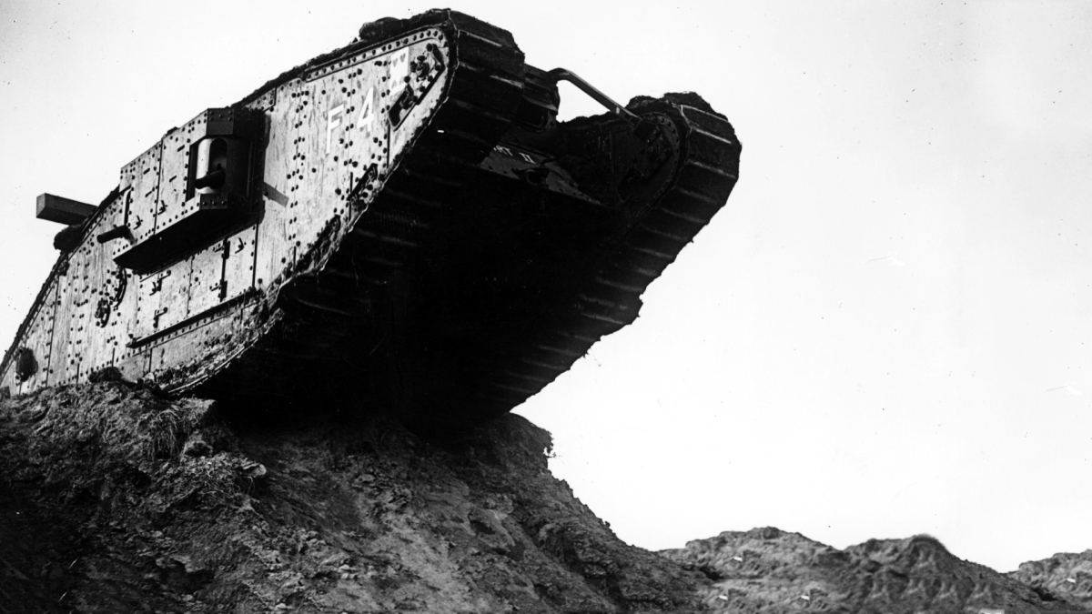September 15, 1916 Tanks of the Great War