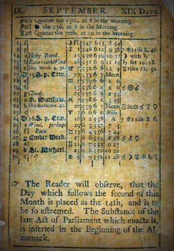 virginia-almanack-1752