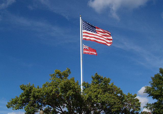 October 21, 1774 First Flag