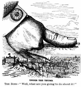 New York Corruption - New York Under Tweed's Thumb