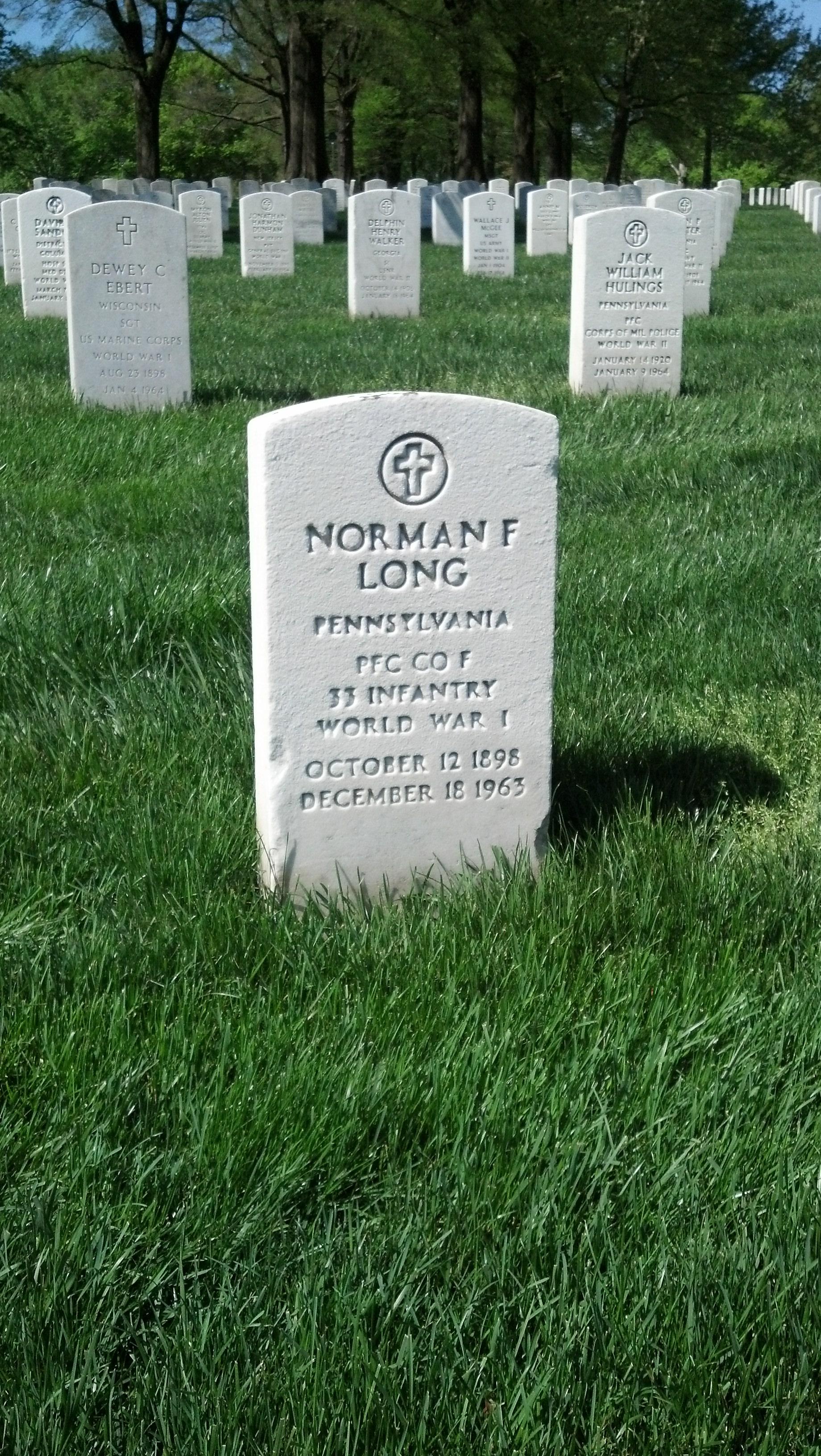 Norman Francis Long