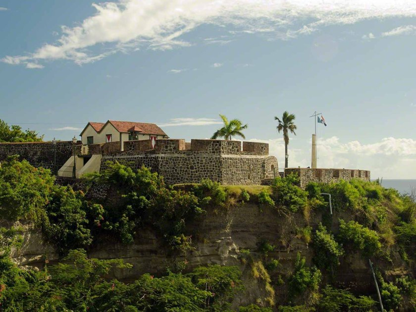 Fort Oranje on Statia