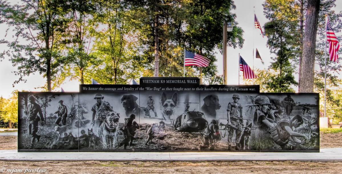 War dog wall