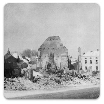 Bastogne building
