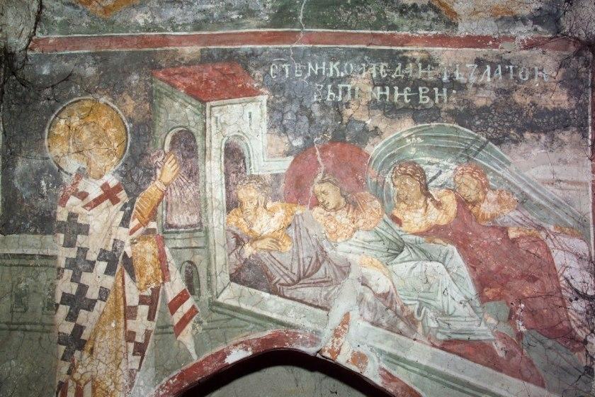 St. Nicholas saving the Three Maidens