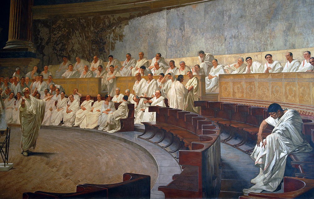 December 5, 63BC  The CatilineConspiracy