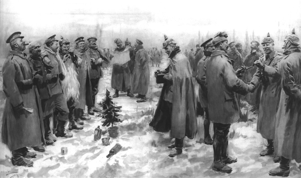 christmas-day-truce-of-1914-published-1915-london-illustrated-news