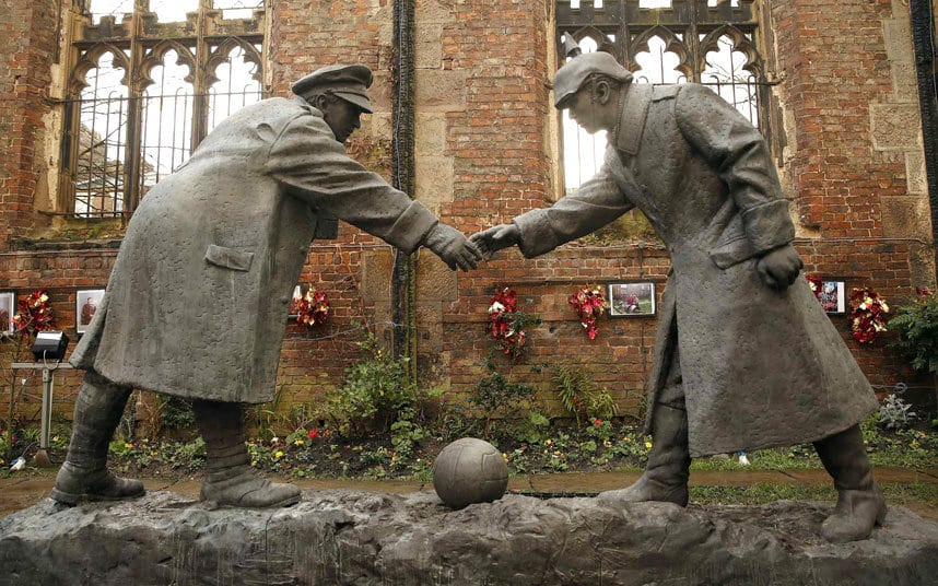 December 25, 1914 A Truce to end all Wars