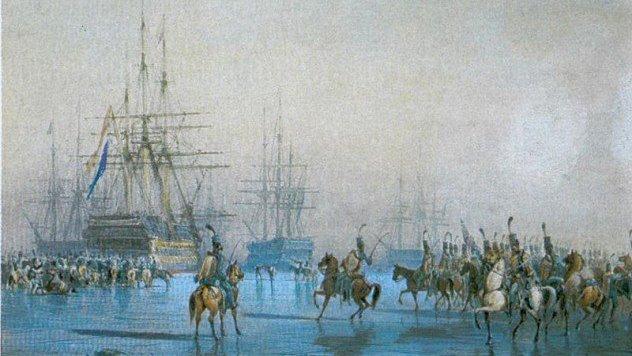 capture of the dutch fleet at den helder
