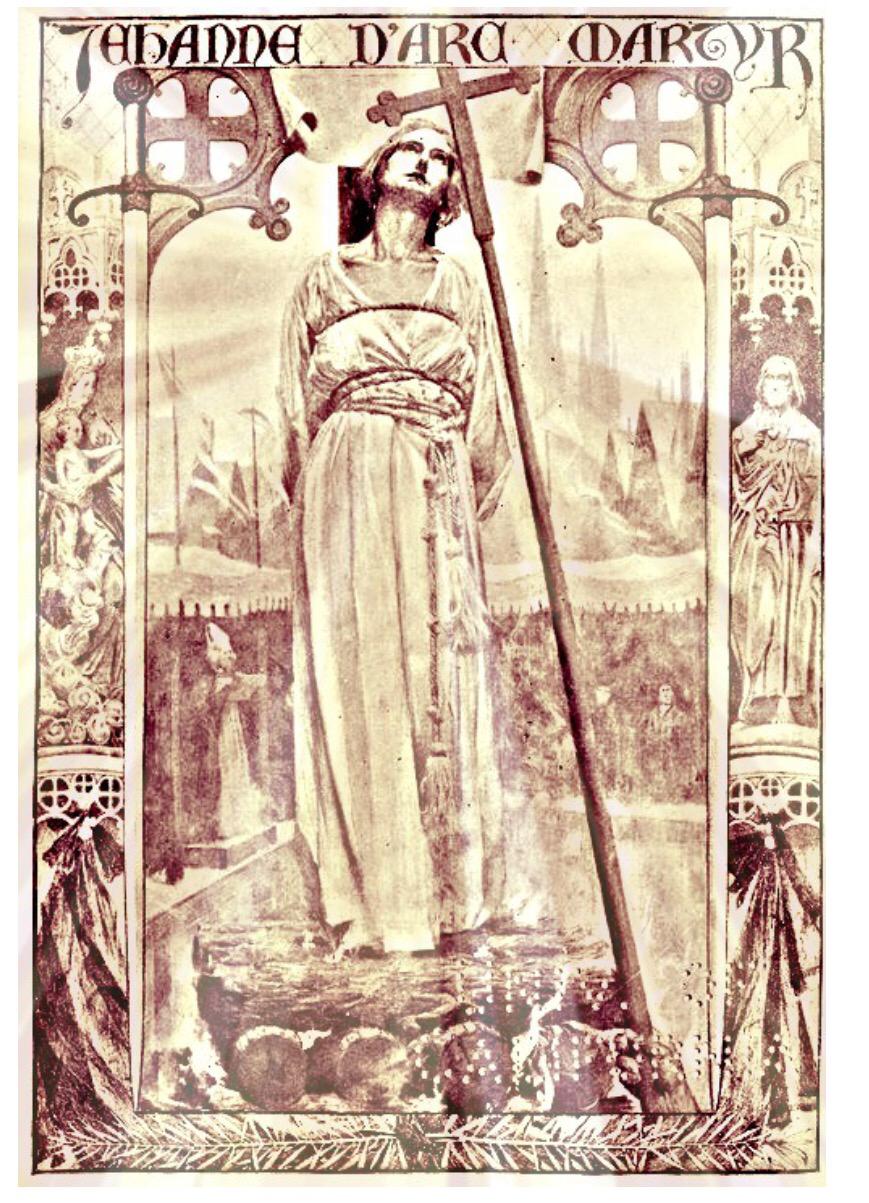Jean d'Arc execution