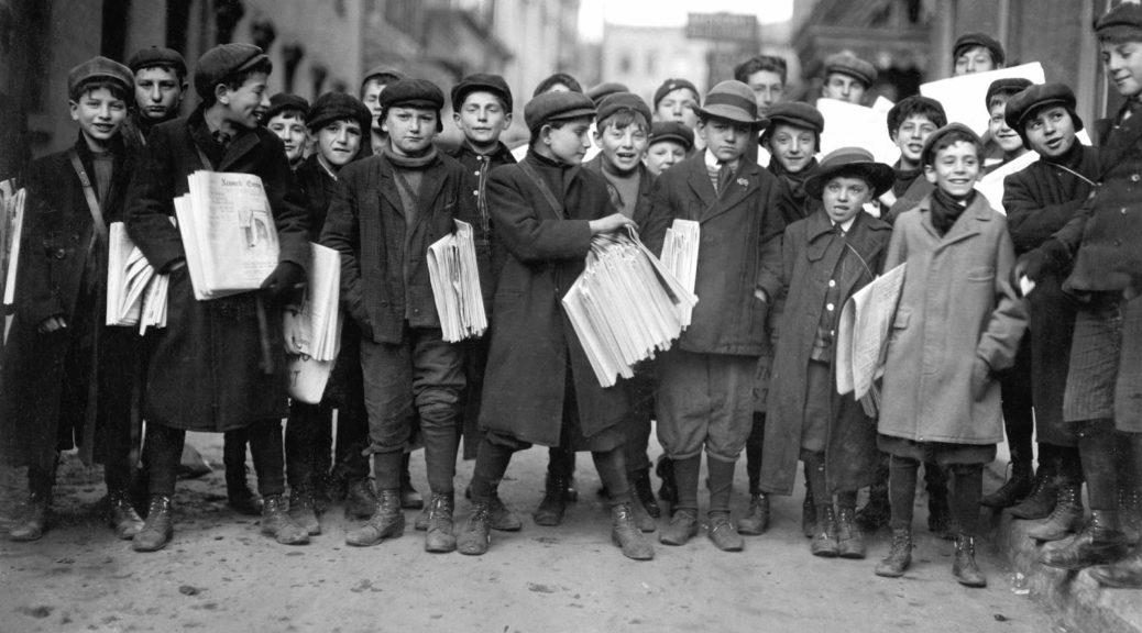 February 23, 1908Newsies