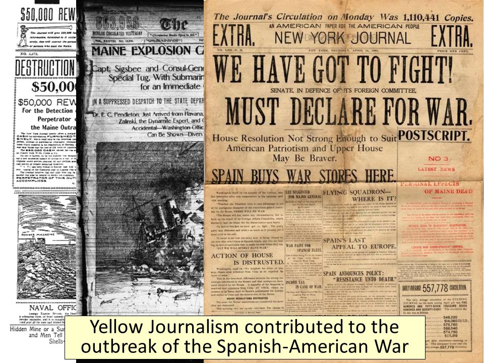 February 17, 1895 Yellow Journalism