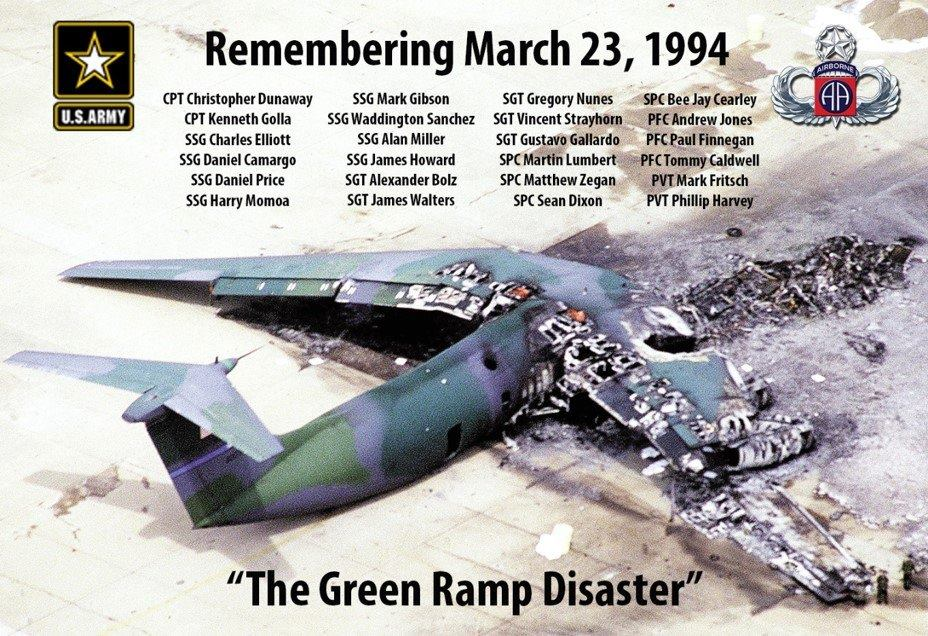 March 23, 1994 The Heroes of Green Ramp