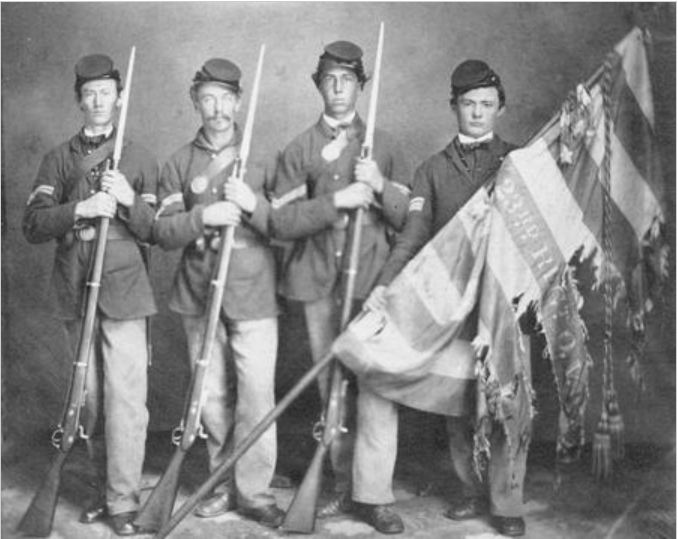 civil-war-soldiers-with-tattered-flag