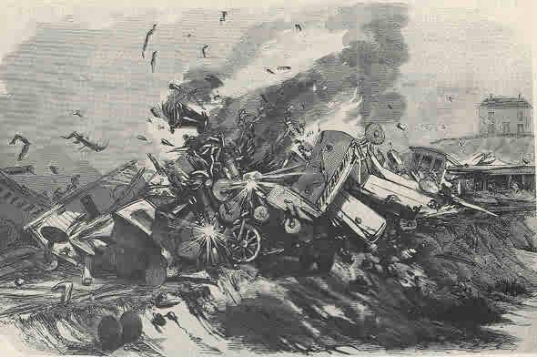 Shohola Wreck 7-26-1856 PA