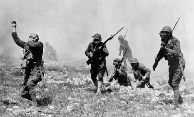 April 22, 1915  From Trench Warfare to ModernChemotherapy