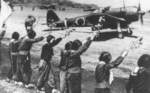 kamikaze-taking-off