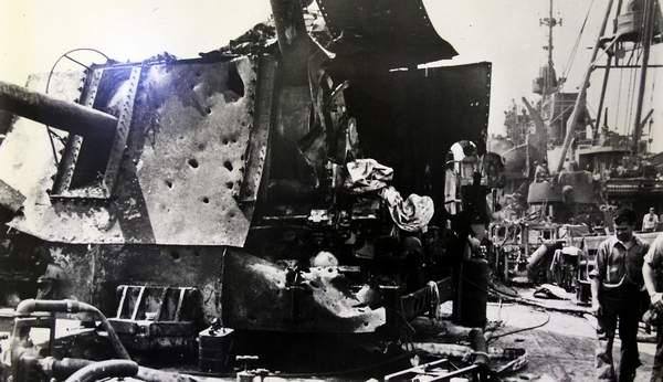 kamikaze - USS Laffey