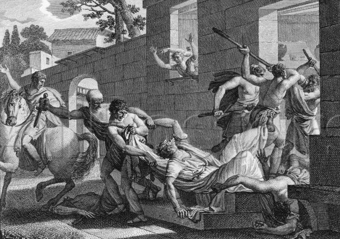 May 1, 62BC The Scandal of the Bona Dea