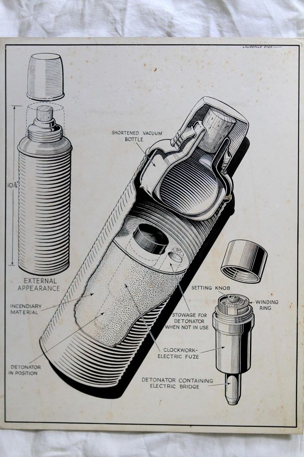 PAY-The-wartime-work-of-Laurence-Fish-Flask-bomb