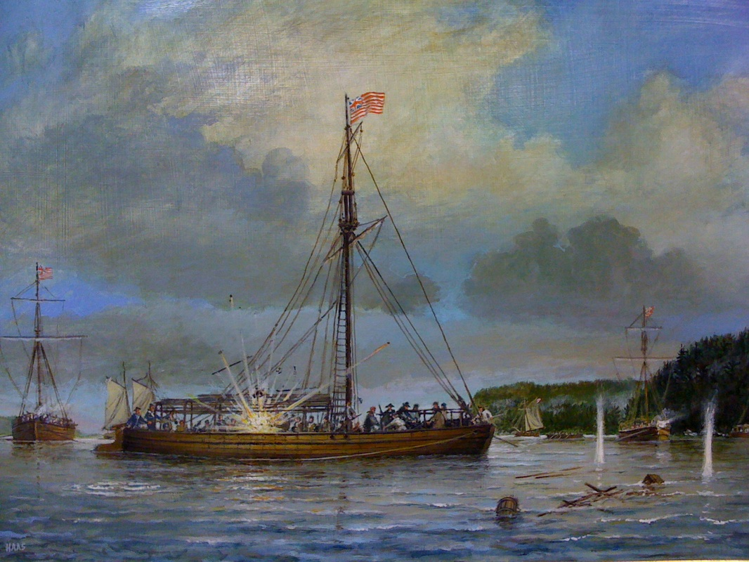 October 11, 1776  Buying Time.  The Battle of Valcour Island