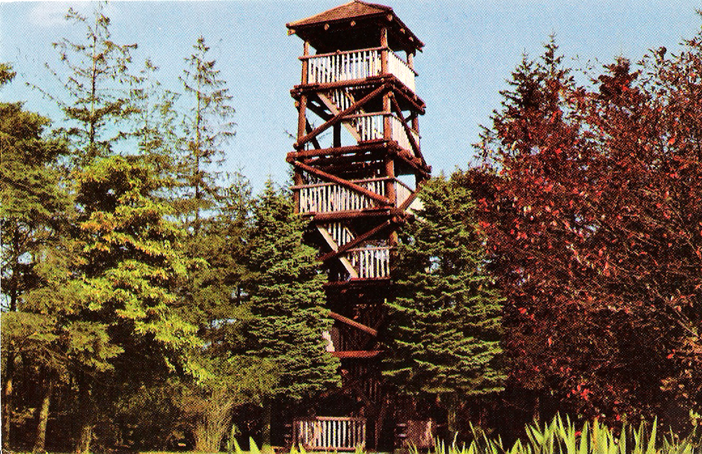 wooden-tower