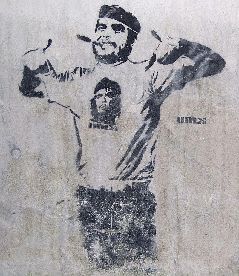 Che_and_Fidel_Graffiti_Bergen_Norway