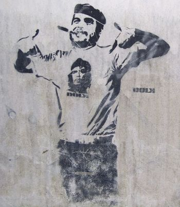 Che_and_Fidel_Graffiti_Bergen_Norway