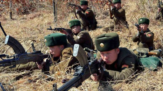 North-Korean-Troops