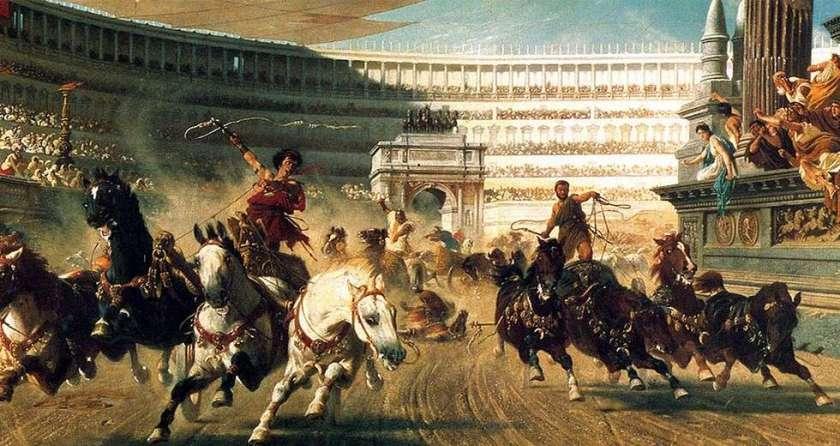 roman-chariot-race