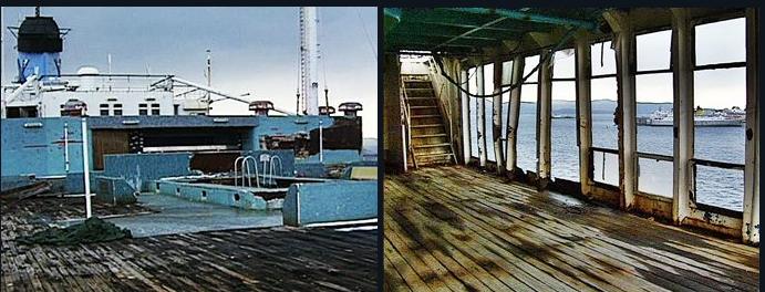 SS America, Interiors