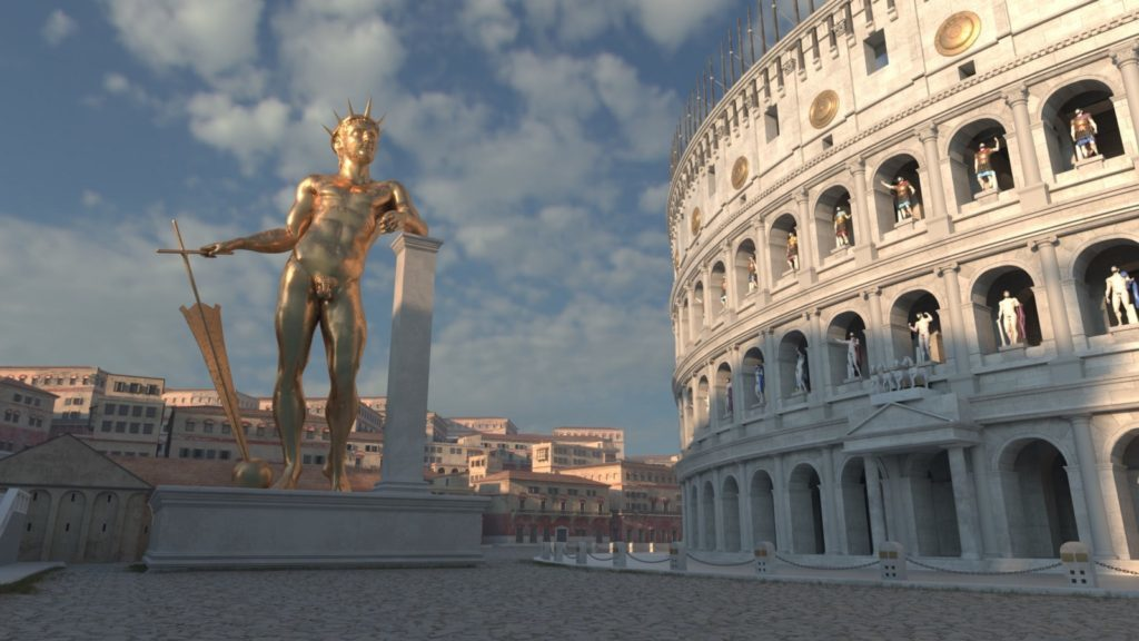 March 7, AD321 The Colossus of Nero