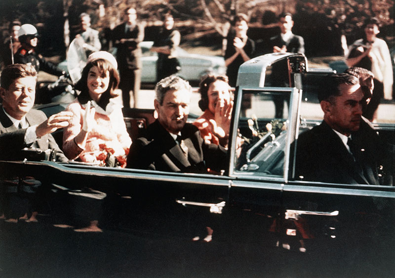 Kennedy Assassination: Kennedy in Car