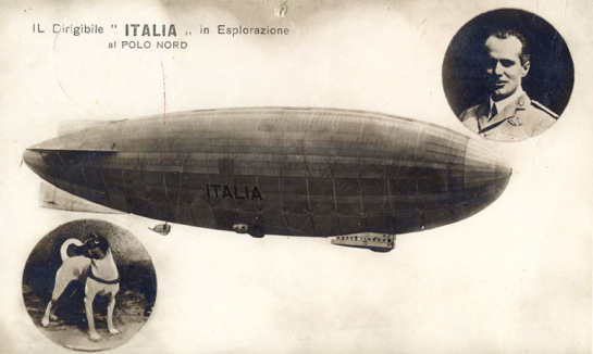 May 23, 1928  Wreck of the Airship Italia