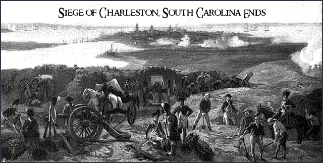 May 12, 1780  Disaster at Charleston